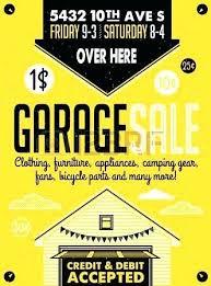 Yard Sales Flyers How To Make A Garage Sale Flyer 4 Yard Sale Sample