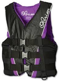 Obrien Womens 3 Buckle Nylon Vest