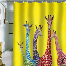 cool shower curtains for kids. Unique Shower Curtains With Animal Patterns Cool For Kids