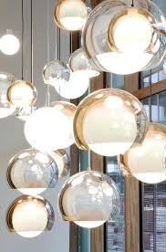 glass globe chandeliers glass globe pendant light 1 modern glass globe chandeliers