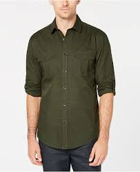 Macys Mens Suit Size Chart Mens Warren Long Sleeve Shirt Created For Macys