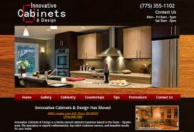 Cabinet Design Website New Website Innovative Cabinet Design Inventive Web