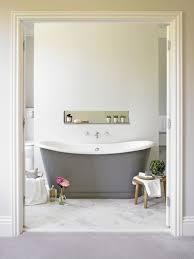 transitional bathroom by leivars