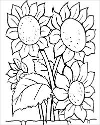 Spring Flower Coloring Pages Pdf Spring Flower Coloring Pages
