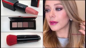 SHISEIDO * Обзор новинок и макияж с декоративной косметикой ...