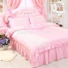 princess bedding set full elegant pink queen comforter set designer brand cotton girls princess bedding set