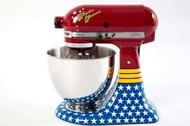 superhero kitchen appliances wonder woman stand mixer