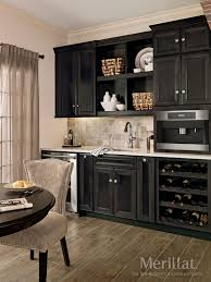 Merillat Kitchen Cabinet Doors Merillat Classicar Bayville In Maple Dusk Merillatar Cabinetry