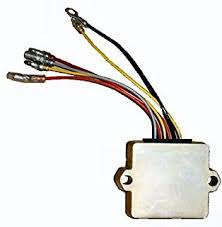 amazon com regulator rectifier mercury mariner 50 55 60 75 90 mercury 6 pin wiring harness at 1996 50elpto Wiring Harness