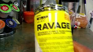 gnc beyond raw ravage pre workout supplement
