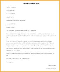 Dear Sir Madam Cover Letter Sample Federal Cover Letter 5 Example Federal Government Cover Letter