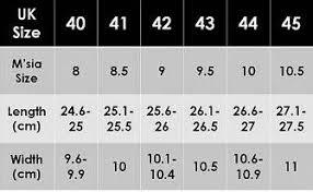 shoe size chart width shoe size chart chic avenue