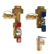 Gas Water Heater Installation Kit Watts 1 In Lead Free Copper Tankless Water Heater Valve