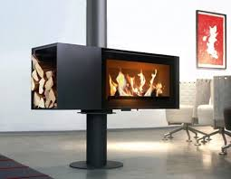 image result for freestanding gas fireplaces