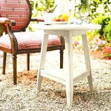 side tables paula deen round side table round tripod lamp table with 1 shelf by