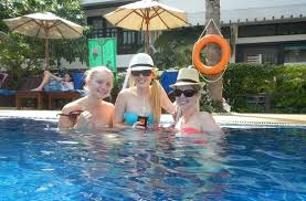 patong bay garden hotel reviews. patong bay garden resort: girls in the pool hotel reviews