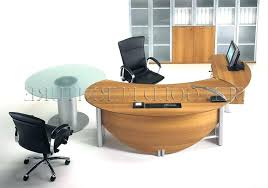 round office desks. Half Round Desk Office Desks Executive Table Manager Pertaining To Stylish Household . T