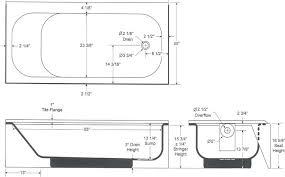 bathtub dimension bathtub rough in measurements ideas bathtub drain rough in dimensions bathtub dimension