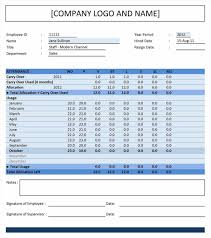 Vacation Tracker Excel Unique Excel Pto Tracker Template