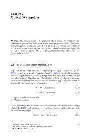 Optical Waveguides Springer