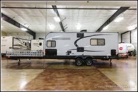 front deck toy hauler travel trailer
