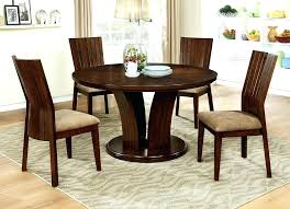 modern dinette sets dining tables wood round dark oak table by furniture of with gl top modern dinette sets traditional dining room