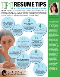Top 10 Resume Tips An Om Practitioner Needs To Know By Pcom Alumna