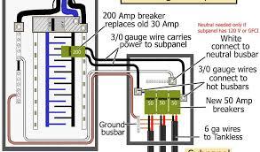 240v gfci circuit breaker unique gfci breaker wiring diagram awesome Off Main Sub Panel Wiring Diagram at 240v Sub Panel Wiring Diagram