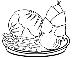 素材屋じゅん塗り絵三昧野菜と果物花年間行事の三種まとめて