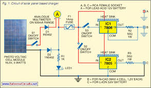 energy saving schematic diagram solar battery charger diy solar battery charger circuit diagram