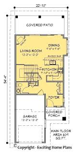 narrow lot modern house plans duplex house plans for narrow lots from modern house garage amp