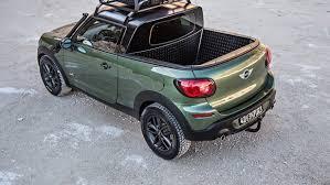 MINI Paceman transformed into a mini pickup truck concept