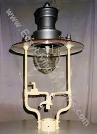 decoration gas lantern installation lamp post light fixture