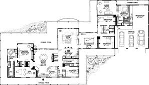 Southwestern House Plan 400 Bedrooms 40 Bath 4000240 Sq Ft Plan 4040 Enchanting Floor Plans For 5 Bedroom Homes
