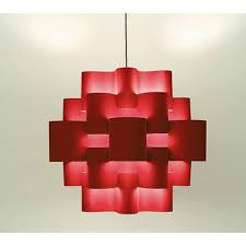karbo light sun 50 05sprd50s red pendant ceiling light
