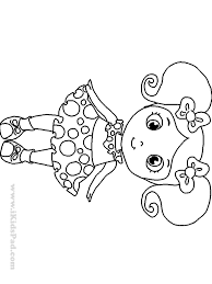 Small Picture Cute Girl Coloring Pages To Download And Print For Free Best Of