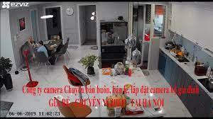 lắp đặt camera quan sát giám sát gia đình giá rẻ tại Hà Nội - YouTube
