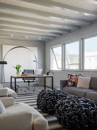 cozy contemporary home office. striking urban interior design with neutral colors cozy home office modern furniture pacific heights contemporary