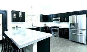 black and white countertops black countertops white cabinets