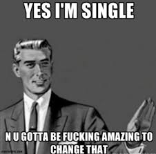 Funny Memes About Being Single (1) - Funny Images and Funny Pictures via Relatably.com