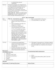 sample lesson plan for preschool example lesson plan template 5 step 3 or preschool editable