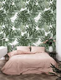 Behang Monstera Kek Amsterdam Behang Wallpaper Botanical