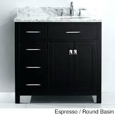 48 vanity with granite top black inch bathroom wooden cabinet vessel sink