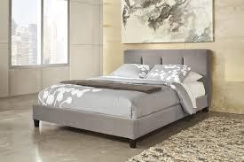 Full Upholstered Bed Frame Grey Tufted Headboard Grey Tufted Headboard Modway Modway Grey