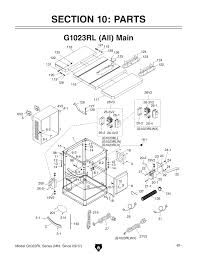 G1023rl pl 1 1000 shop tools and machinery at grizzly 220 wiring diagram for 2 hp grizzly table