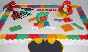 superhero sheet cake celebrationboys9