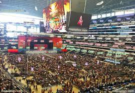 Dallas Cowboy Seating Chart New Stadium Cowboy Stadium Concert Seating Chart Dallas At T Stadium