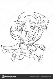 Cartoon Lopende Vampier Stockvector Agaes8080 142018714
