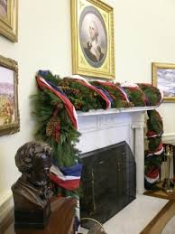 Oval Office Christmas decorations Picture of The George W Bush