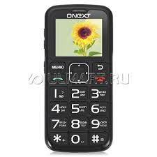 Мобильный <b>телефон ONEXT Care</b>-<b>Phone</b> 5 Black, черный, 4023217